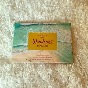 WANDERESS SEASCAPE EYESHADOW PALETTE 9.4g NIB